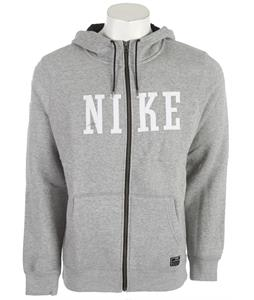 Nike Northrup Heritage Full Zip Hoodie Dark Grey Heather