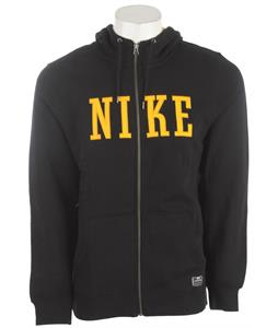 Nike Northrup Heritage Full-Zip Hoodie Black/University Gold