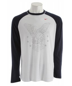 Nike Olympics Dri-Fit Blend T-Shirt White
