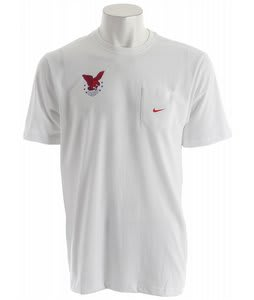 Nike Olympics Dri-Fit Pocket T-Shirt White