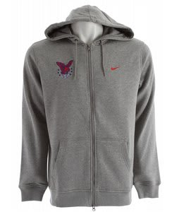 Nike Olympics Fz Hoodie Grey Heather