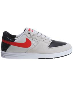 Nike Paul Rodriguez 7 Skate Shoes Light Bone/Black/Lt Crimson