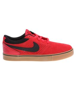 Nike Paul Rodriguez 5 LR Skate Shoes Hyper Red/Gum Med Brown/Total Crimson/Black