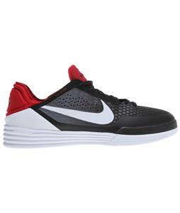 Nike Paul Rodriguez 8 Shoes Black/Dark Grey/Gym Red/White