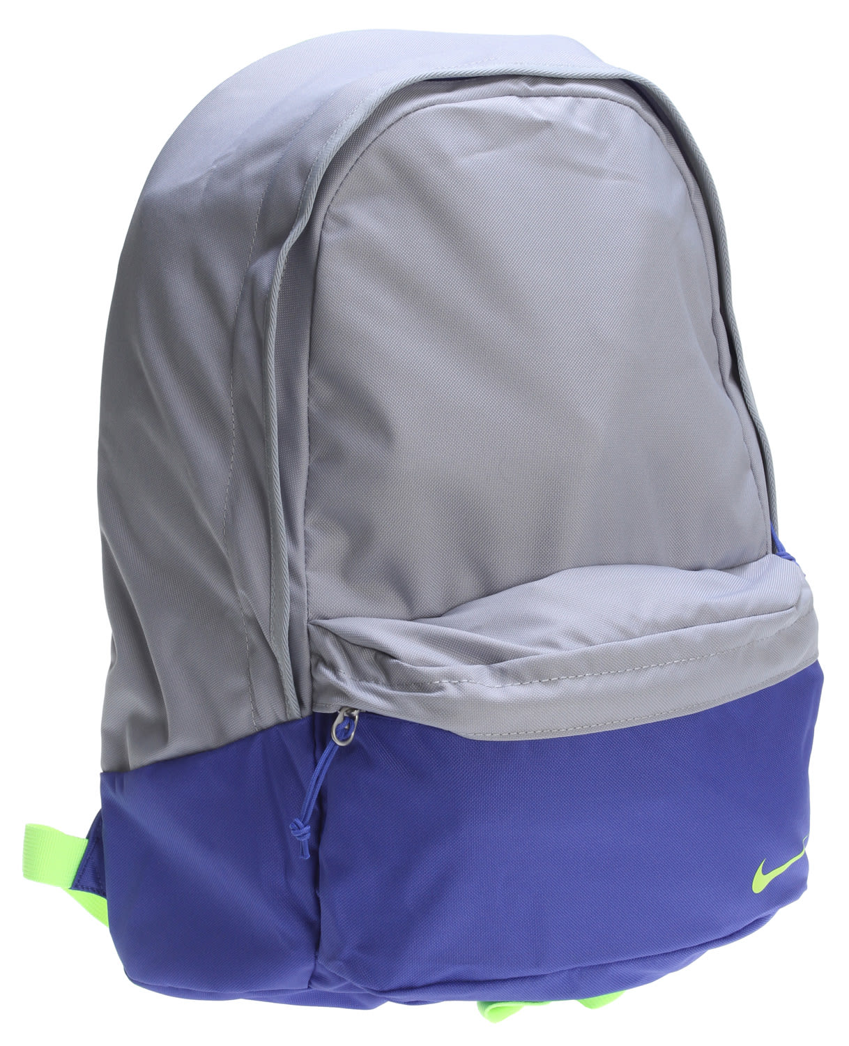 Nike Piedmont Backpack Wolf Grey/Violet Force/Volt