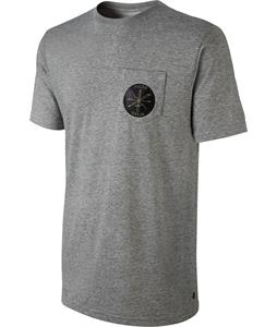 Nike QT S + Poler X SB Pocket T-Shirt Dk Grey Heather