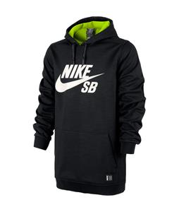 Nike Ration Pullover Hoodie Black Heather/Volt/Ivory