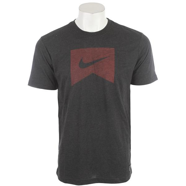 Nike Ribbon Logo Dri Fit Blend T-Shirt