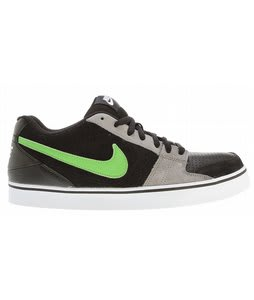 Nike Ruckus Low Skate Shoes Black/Green Apple/Light Charcoal
