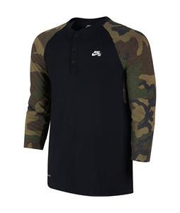 Nike SB 3/4 Sleeve Seasonal Henley