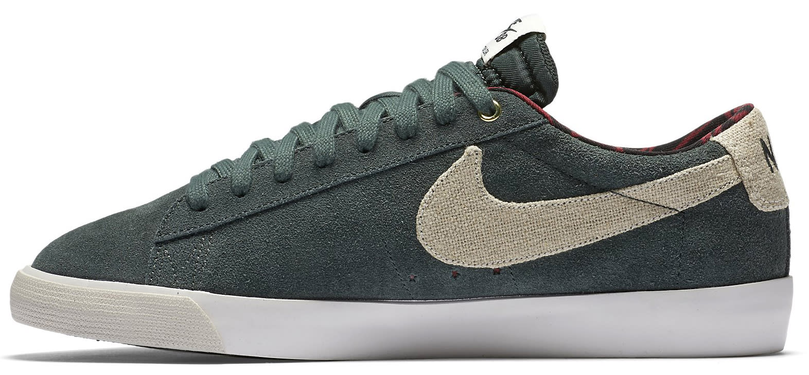 new product 83f23 fd8d7 mens nike blazer green red
