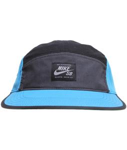Nike SB Blocked 5 Panel Cap Anthracite/Vivid Blue/Black