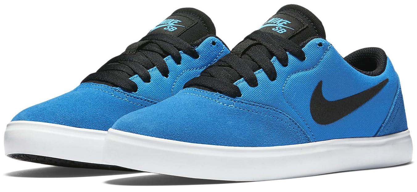 Nike Skateboarding Youth Check Canvas Shoes