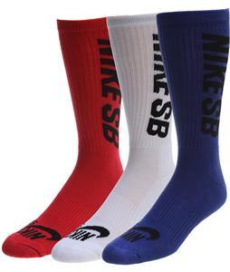 Nike SB Crew 3 Pack Socks