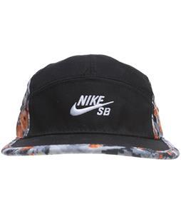 Nike Digi Camo 5 Panel Cap Black