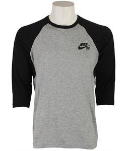 Nike SB Dri-Fit Three-Quarter Crew T-Shirt