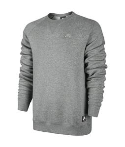 Nike SB Foundation Crew Sweatshirt Dk Grey Heather/Medium Grey