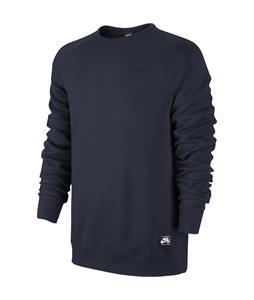 Nike SB Foundation Crew Sweatshirt Obsidian/Dark Obsidian