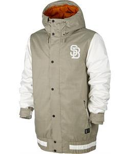 Nike SB Hazed Snowboard Jacket Bamboo/Ivory/Tuscan Rust/Bamboo