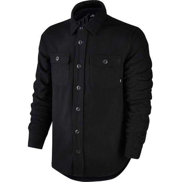 Nike SB Holgate Yarn Dye Wool L/S Shirt