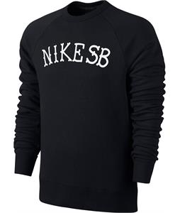 Nike SB Icon Graphic Crew 2 Sweatshirt Black/White