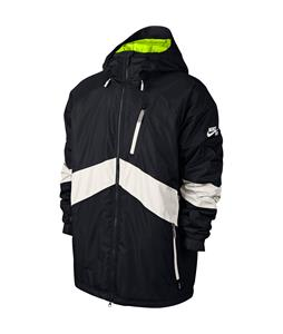 Nike SB Kampai 2.0 Snowboard Jacket Black/Ivory/Volt/Ivory