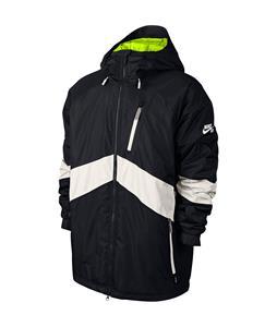 Nike SB Kampai 2.0 Snowboard Jacket Black/Ivory/Volt/Ivory