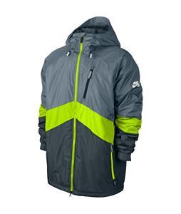Nike SB Kampai 2.0 Snowboard Jacket Magnet Grey/Volt/Dk Magnet Grey/Ivory