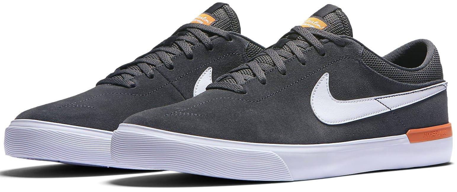 Nike Sb Koston Hypervulc Skate Shoes Anthracite White