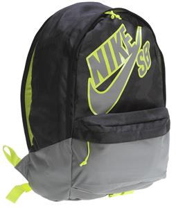 Nike SB Piedmont Backpack Black/Venom Green/Med Base Grey