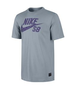 Nike SB Rain Fill T-Shirt Magnet Grey/Magnet Grey/Court Purple