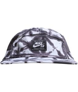 Nike SB Seasonal Printed 5-Panel Cap Anthracite/Black/Lt Blue Lacquer