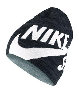 Nike SB Wrap Beanie Black/Aviator Grey/White