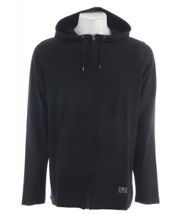 Nike Slub Jersey Full Zip Hoodie Black