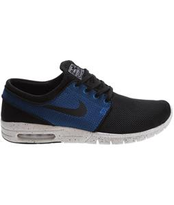 Nike Stefan Janoski Max Shoes Black/Black/Photo Blue/Ivory