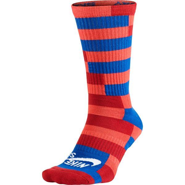 Nike Striped Dri-Fit Skate Crew Socks