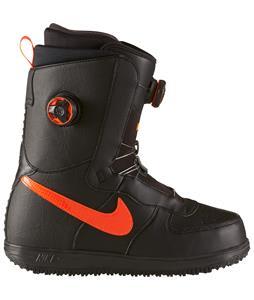 Nike Vapen X BOA Snowboard Boots Black/Hyper Crimson