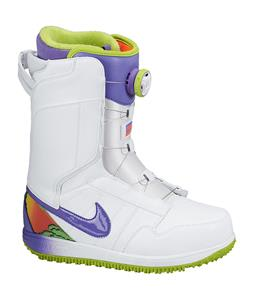 Nike Vapen X BOA Snowboard Boots White/Fierce Green/Hyper Crimson/Purple Haze