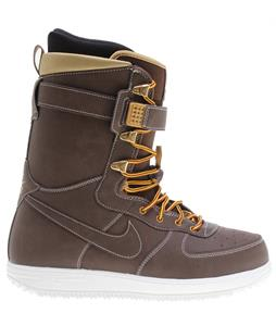 Nike Zoom Force 1 Snowboard Boots Barkroot Brown/Metallic Gold/Sail/Barkroot Brown