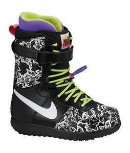 Nike Zoom Force 1 Snowboard Boots Black/Fierce Green/Hyper Grape/White