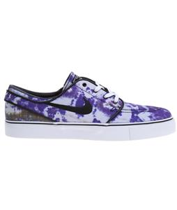 Nike Zoom Stefan Janoski PR QS Shoes White/Deep Royal Blue/Black
