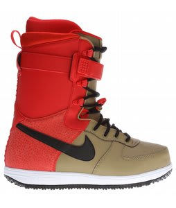 Nike Zoom Force 1 Snowboard Boots Filbert/Black-Challenge Red-White