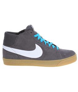Nike Blazer Mid LR Skate Shoes Anthracite/Neo Turq/White