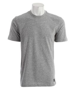 Nike Crew Dri-Fit T-Shirt Dk Grey Heather