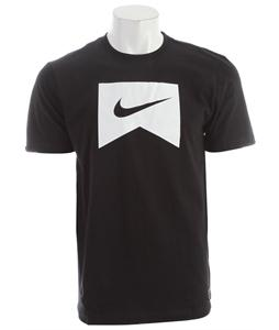 Nike Icon T-Shirt Black/White