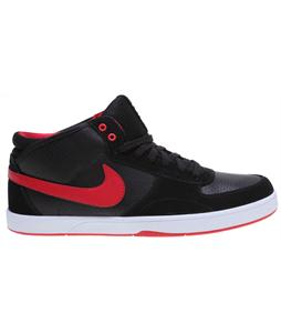 Nike Mavrk Mid 3 Skate Shoes Black/Black/White/Hyper Red