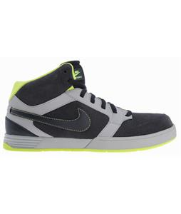 Nike Mogan Mid 3 Skate Shoes Medium Grey/Atomic Green/Dark Obsidian