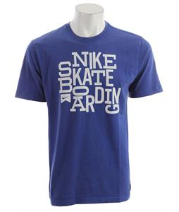 Nike Nsb Block T-Shirt Old Royal/Dark Grey Heather
