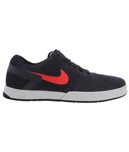 Nike Paul Rodriguez 6 Skate Shoes Dark Obsidian/Light Bone/Challenge Red