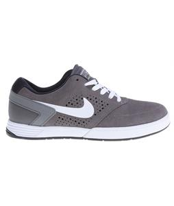 Nike P-Rod 6 Skate Shoes Dk Grey/Dk Obsdn/White